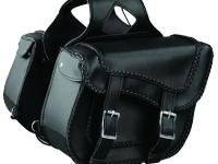 These saddlebags will not only dress up your bike but