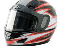 The Raider Full Face Snow Helmet features a lightweight