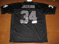 L.A. RAIDERS BO JACKSON JERSEY FOR SALE EVERYTHING SEWN