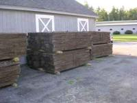 Used railroad ties Grade 1 - retainer wall - $13.75