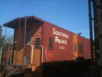 RAILROAD TIES/ 1963 SOUTHERN PACIFIC BAY WINDOW