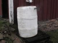 i have a heavy duty plastic rain barrel for sale. i