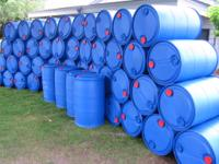 Food grade rain capture barrels and IBC totes
