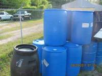 Plastic Rain Barrels $30 each Metal Burn Barrels $12