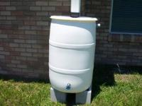 "RAIN BARRELS "" COMPLETELY MADE RAIN BARRELS 55 gallon """