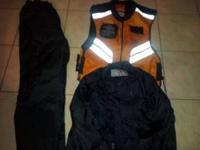 Men's xlg Joe Rocket Motorcycle Rain pants and