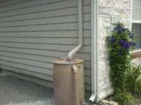 55 gallon rain barrel. Everything you need for setup is