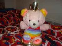 Rainbow Bear Lamp with Shade $10 Call:  Location: