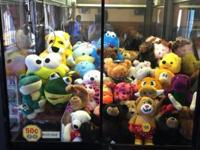 "4 (42"") Rainbow Claw Machines. Good condition and on"