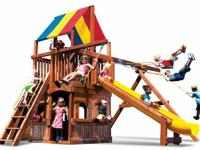 UNIQUE FINANCING AVAILABLE.   Rainbow Play Set Sunshine