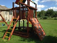 Rainbow Play Set for sale AS IS. Good Condition,