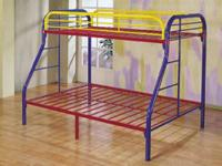 Acme # 06345 Rainbow Twin/Full Bunk Beds $229.99