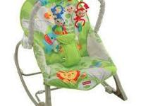 Rainforest Friends Infant-to-Toddler Rocker $ 19.99