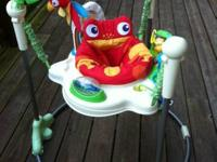 Fisher Price Rainforest Jumperoo $40 Great condition.