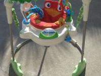 Rainforest jumperoo like new condition..call  Location: