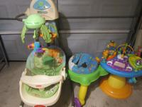 hi i have a exersaucer that play music and songs and