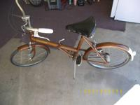 VINTAGE RALEIGH 3 SPEED FOLDING BIKE IN EXCELLENT