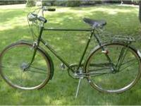 I want to purchase an older model English bicycle. If