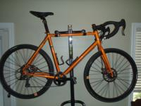 2012 Raleigh Furley Size: 58 cm Frame: Seamless Butted