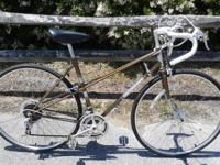 "19.5"" Raleigh Grand Prix chromoly mixte(great lugwork"