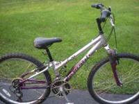 This is an adult bike with a small frame.  Location: