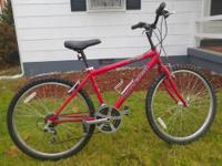 For Sale: RALEIGH M20 Mountain Trail 21 speed bike.