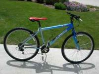 I am selling my Raleigh USA M30 21 Speed Mountain/Trail