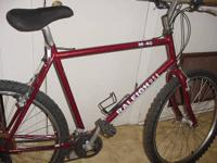 I am selling a Raleigh M40 mtb. The bike is clean and
