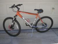 Very new Raleigh monutain bike. made by Raleigh. 10
