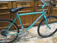 "26"" quick release wheels and seat post. Model Elkhorn"