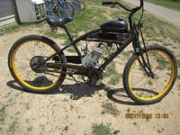 Raleigh Club with 79cc electric motor (needs a Bike