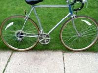 I have a Vintage Raleigh Road bike 27 in tires 58 cm