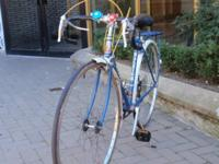 Original Raleigh ... Full functional Blue ... Suntour