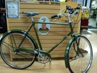 Raleigh Sports 1974; traditional English 3 rate, 22""