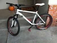 "I have a like new raleigh talus 5.0 what 20"" frame and"