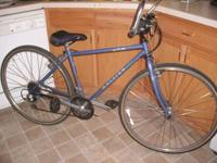 I HAVE A RALEIGH USA MOUNTAIN BIKE. WAS USED BY MY SON