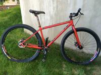 Exceptional Raleigh XXIX 29er single speed mountain