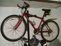 Raleigh M-50 Mountain Bike Mid 90s good condition red