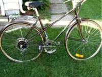 I have a Vintage Raleigh Sprite10 road bike for sale