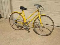 Raliegh Sprite lady's bike for sale,in great original