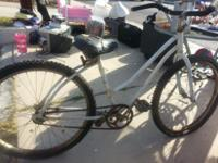 "Must sell Rallye 24"" girls bike (white) and Cheetah in"
