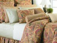 Queen size Ralph Lauren Coco Palm complete bedding set.