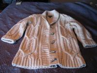Ralph Lauren very thick, gently used cardigan made of