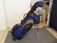 Set of Ram clubs in a stand bag (TourTrek) Nice