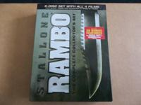 RAMBO, THE COMPLETE COLLECTOR'S SET  BRAND NEW AND