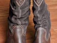 RAMPAGE COWBOY BOOTS Gently loved pre-owned condition.