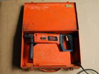 Have for sale Ramset anchor drill. Tool is in extremely