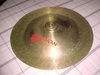 18 inch Ran Can cymbal for that trashy sound. Also have