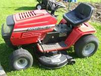 "Good Running 14.5 Hp 42"" cut Has Manual Trans Cuts Good"