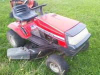 Here is a nice running Ranch King riding mower. It has